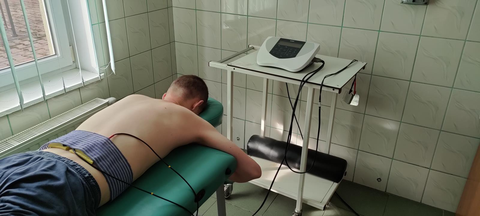 elektroterapia w DPS w Dębicy