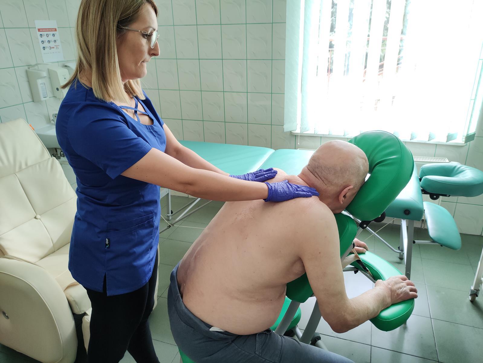 masaż ręczny w DPS w Dębicy