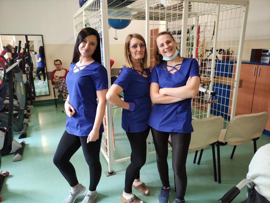 Rehabilitantki w DPS