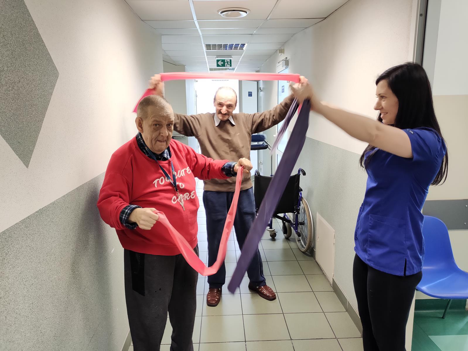 rehabilitacja w DPS w Dębicy